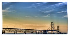 Mackinac Sunset Beach Towel