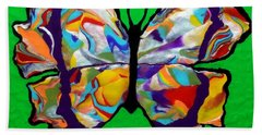 Madam Butterfly Beach Towel