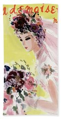 Mademoiselle Cover Featuring A Bride Beach Towel