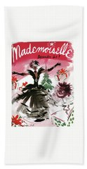 Mademoiselle Cover Featuring A Doll Surrounded Beach Towel