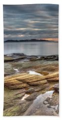 Madrona Sunrise Beach Towel by Randy Hall