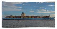 Maersk Line Beaumont Beach Towel