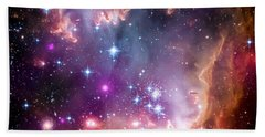 Magellanic Cloud 3 Beach Towel by Jennifer Rondinelli Reilly - Fine Art Photography