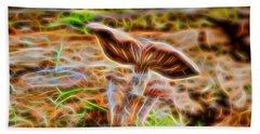 Magic Mushroom-5 Beach Sheet
