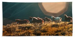 Magical Herd Beach Towel