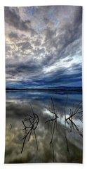Magical Lake - Vertical Beach Sheet