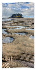 Beach Towel featuring the photograph Magical Maine by Tammy Wetzel