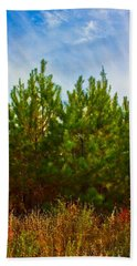 Magical Pines Beach Towel