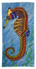 Magical Seahorse Beach Towel