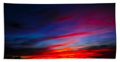 Beach Towel featuring the photograph Magnetic Dawn by Mark Blauhoefer
