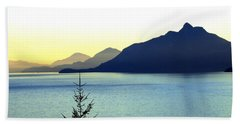 Magnificent Howe Sound Beach Towel by Will Borden