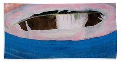 Magpie Original Painting Beach Towel