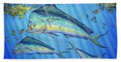 Mahi Mahi In Sargassum Beach Towel