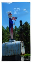Mail For Uncle Sam Beach Towel