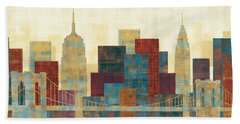 Skyline Beach Towels