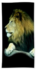 Beach Towel featuring the photograph Majestic King by Maria Urso