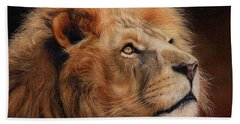 Majestic Lion Beach Towel