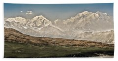 Majestic Mount Mckinley Beach Sheet