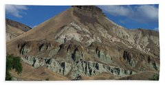 Beach Towel featuring the photograph Majestic Rimrock by Chalet Roome-Rigdon