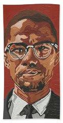 Malcolm X Beach Towel