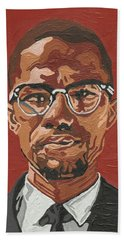 Malcolm X Beach Towel