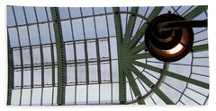 Beach Sheet featuring the photograph Mall Of Emirates Skylight by Andrea Anderegg