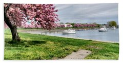 Mamaroneck Harbor Beach Towel