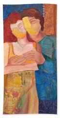 Man And Woman Beach Towel