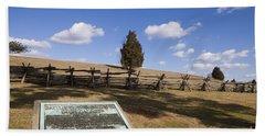 Manassas National Battlefield Park Beach Towel