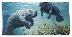 Manatee's Beach Towel
