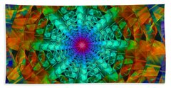Mandala Beach Towel by Ester  Rogers