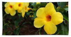 Mandevilla Beach Towel
