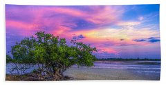 Mangrove By The Bay Beach Towel