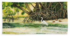 Mangrove Morning Beach Towel