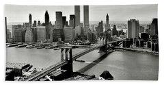 Manhattan 1978 Beach Towel