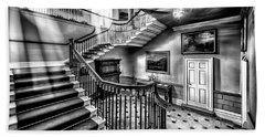 Mansion Stairway V2 Beach Towel