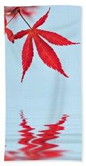 Maple Reflection Beach Sheet