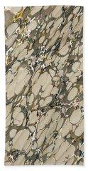 Marble Endpaper Beach Towel