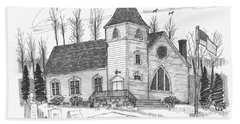 Marbletown Church Beach Towel