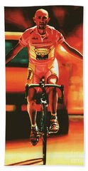 Marco Pantani Beach Towel
