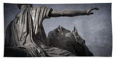 Marcus Aurelius - Rome  Beach Towel