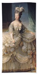 Marie Antoinette Queen Of France Beach Towel by Elisabeth Louise Vigee-Lebrun