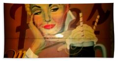 Marilyn And Fitz's Beach Towel by Kelly Awad