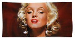Marilyn Beach Towel