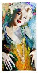 Marilyn Monroe 126 E Beach Towel