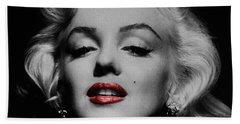 Marilyn Monroe Beach Towels