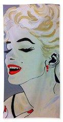 Marilyn Monroe Beautiful Beach Sheet