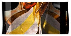 Beach Towel featuring the digital art Marilyn Monroe by Daniel Janda