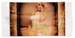 Marilyn Monroe Film Beach Towel