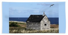 Maritime Cottage Beach Towel